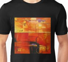 Post-industrial sunset Unisex T-Shirt