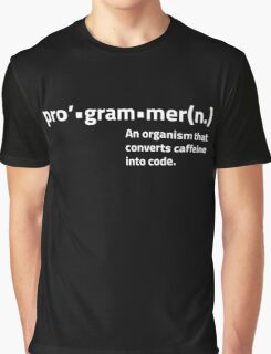 Programmer Definition Graphic T-Shirt