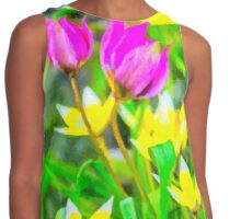 May tulips Contrast Tank