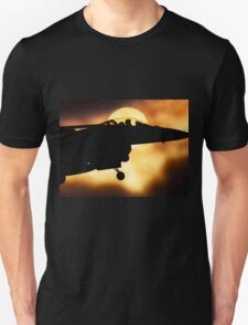 World Of Aviation - F16 Fighting Falcon Unisex T-Shirt