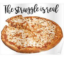 Pizza Struggle Poster