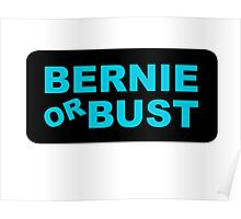 Bernie or Bust! Poster
