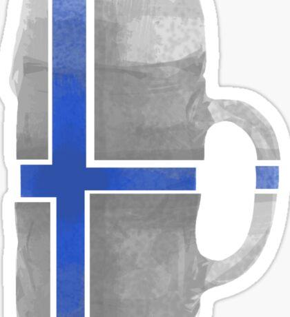 Finland Beer Flag Sticker