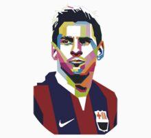 Lionel Messi | PolygonART One Piece - Long Sleeve