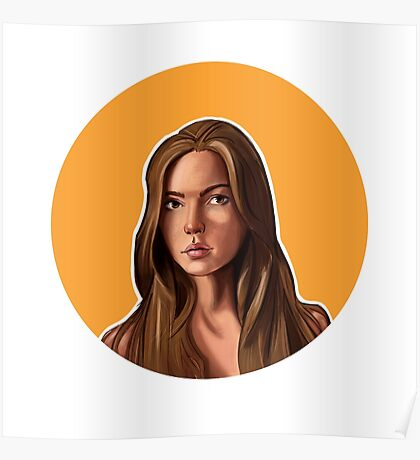 Female Portrait Poster
