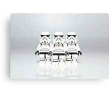 Storm Trooper Line up Canvas Print