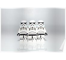 Storm Trooper Line up Poster