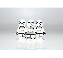 Storm Trooper Line up Photographic Print