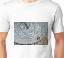 Bee on Sundial Unisex T-Shirt