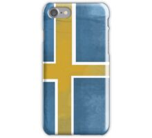 Sweden Beer Flag iPhone Case/Skin