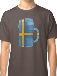 Sweden Beer Flag Classic T-Shirt