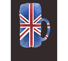UK Beer Flag Photographic Print