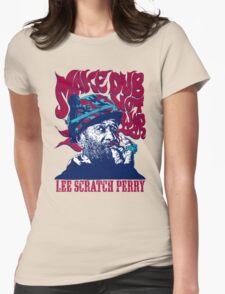LEE SCRATCH PERRY : MAKE DUB NOT WAR Womens T-Shirt