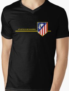 Atletico de Madrid Mens V-Neck T-Shirt