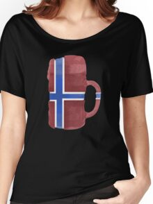 Norway Beer Flag Women's Relaxed Fit T-Shirt