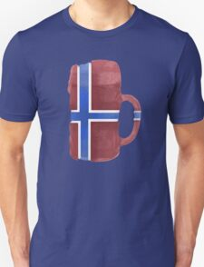 Norway Beer Flag Unisex T-Shirt