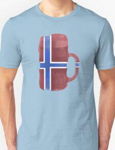 Norway Beer Flag Unisex T-Shirt
