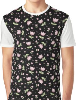 Tulips in black II Graphic T-Shirt