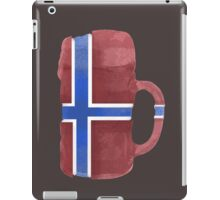 Norway Beer Flag iPad Case/Skin
