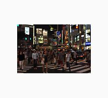 People Walking in a Busy Tokyo Intersection Unisex T-Shirt