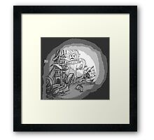 Troctopus goes to London Framed Print