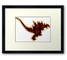 Godzilla 2000 Framed Print