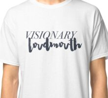 Visionary Loudmouth - Navy Classic T-Shirt