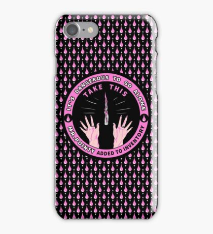 Mr. Pointy Added to Inventory iPhone Case/Skin