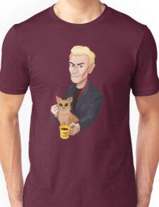 Spike and a kitten Unisex T-Shirt