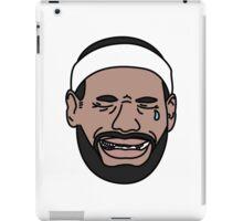 Lebron dont cry iPad Case/Skin