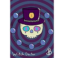 Witch Doctor Photographic Print
