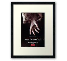 Hemlock grove affiche saison 1 Framed Print