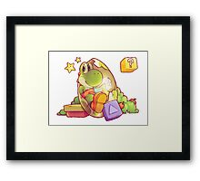 Tetris Attack Framed Print