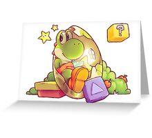 Tetris Attack Greeting Card