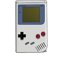 Classic GameBoy Grey Photographic Print
