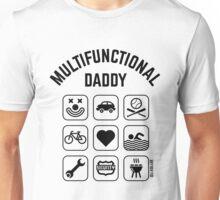 Multifunctional Daddy (9 Icons) Unisex T-Shirt