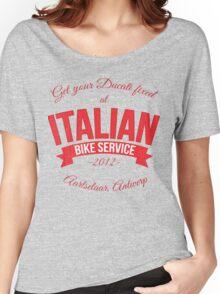 Italian Bike Service Women's Relaxed Fit T-Shirt