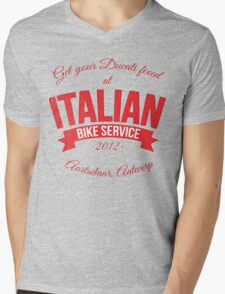 Italian Bike Service Mens V-Neck T-Shirt