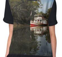 Paddleboat ~ Pyap Chiffon Top
