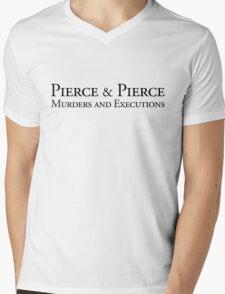 Pierce & Pierce - Murders and Executions Mens V-Neck T-Shirt