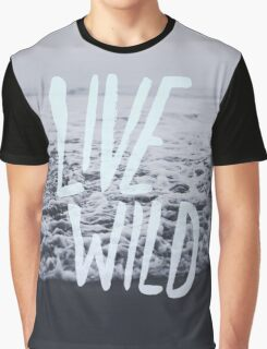 Live Wild: Ocean Graphic T-Shirt