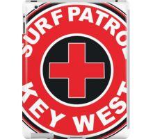 SURF PATROL LIFEGUARD  KEY WEST FLORIDA Surf Surfer Surfboard Waves Ocean Beach Vacation iPad Case/Skin