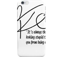 Kiera Cass Signed Quoteable iPhone Case/Skin