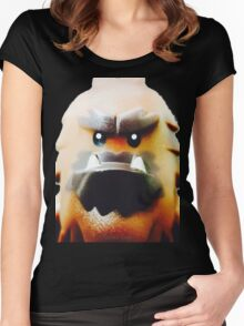 Bodyguard for hire? Women's Fitted Scoop T-Shirt