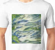 Turbulent Swoosh.  Unisex T-Shirt