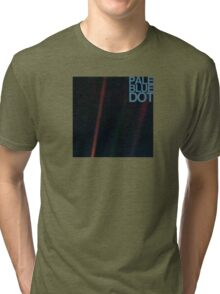 Pale Blue Dot  ( Earth from voyager ) Tri-blend T-Shirt