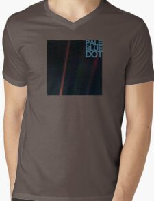 Pale Blue Dot  ( Earth from voyager ) Mens V-Neck T-Shirt