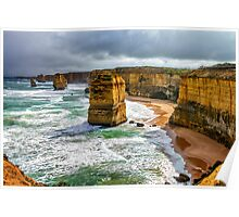 The Twelve Apostles North Poster