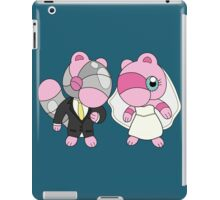 Bride & Groom Mushi iPad Case/Skin