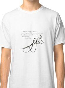 Sarah J Maas Signed Quotable Classic T-Shirt